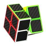 スピードキューブ2×2 ステッカー 競技用 脳トレ 立体パズル  スピードキューブ (Luxury EDC Infinity Cube) キューブ  おもちゃ ストレス解消  ADD & ADHD 集中力を向上し 不安を軽減し 知育おもちゃ  (黒色, スピードキューブ2×2 ステッカー)