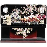 雛人形 親王収納飾り[幅60cm][it-1019] 雛祭り