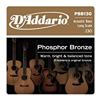 D'Addario PBB130 アコースティックベース用 バラ弦