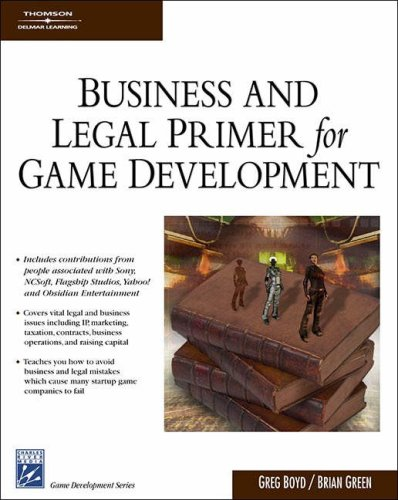 Download Business & Legal Primer for Game Development 1584504927