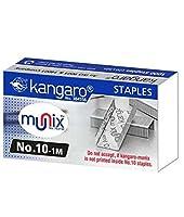 buycrafty Kangaro no。10–1M 5MMホッチキスピンミニボックス1, 000のホッチキスフラットクリンチアートとクラフト、ホームとオフィスホッチキス製品( 15個パック)