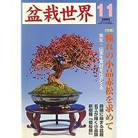 盆栽世界 2006年 11月号 [雑誌]