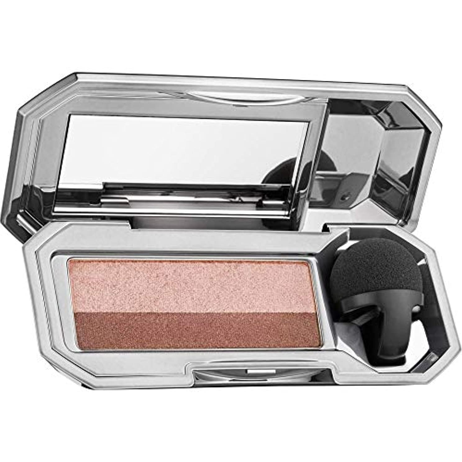 事前に未亡人十分BENEFIT They're real! Duo Eyeshadow Blender - NAUGHTY NEUTRAL [並行輸入品]