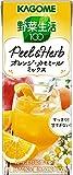 カゴメ 野菜生活100 Peel&Herb オレンジ・カモミールミックス 200ml×24本