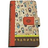 魔法陣グルグル 01 ちりばめデザイン(グラフアートデザイン) 手帳型マルチケース