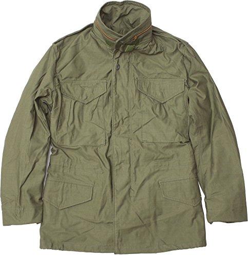 米軍 M-65 フィールドジャケット オリーブ デッドストックXS-Rワンカラー