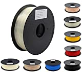 ANYCUBIC 3Dプリンター用 造形 フィラメント pla 高品質 高密度 環境保護 純正材料 透明【1.75mm】【正味1kg】(plaクリア)