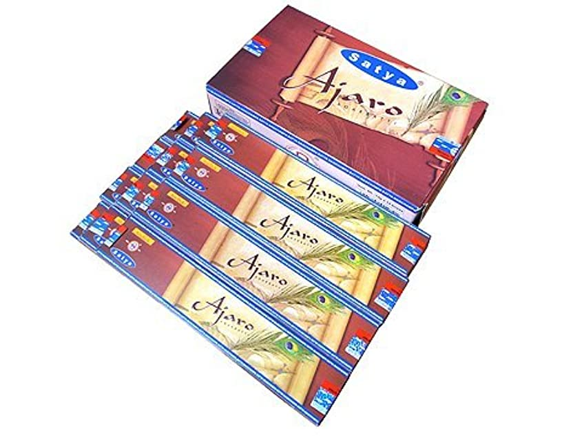 宿泊施設内なる櫛Ajaro – ボックスof 12パックの15グラム各 – Satya Sai Baba Incense Sticks