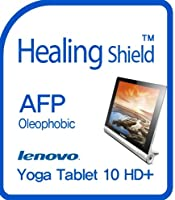 Healingshield スキンシール液晶保護フィルム Oleophobic AFP Clear Film for Lenovo Tablet Yoga Tablet 10 HD+ [Front 1pc]