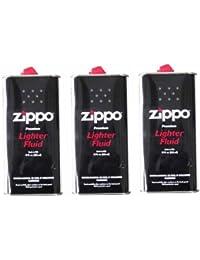 ZIPPO(ジッポー) Zippo オイル缶 【大缶355ml】 3本セット