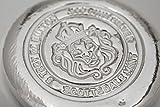5オンス .999 155.5グラム 純銀 メダル 「ボタン」 バー インゴット アメリカ スコッツデール社 高純度 .999 銀 ライオン シルバー