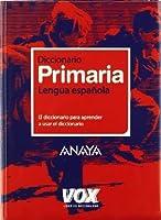 Diccionario lengua espanola / Spanish Language Dictionary: Primaria/ Elementary