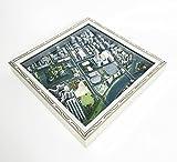 3D Print Maps【広島城・原爆ドーム周辺】 (300, シルバー)