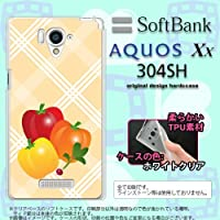 304SH カバー AQUOS Xx 304SH ケース アクオス Xx ソフトケース パプリカ nk-304sh-tp668
