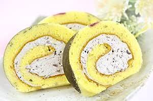 桜 の ロールケーキ