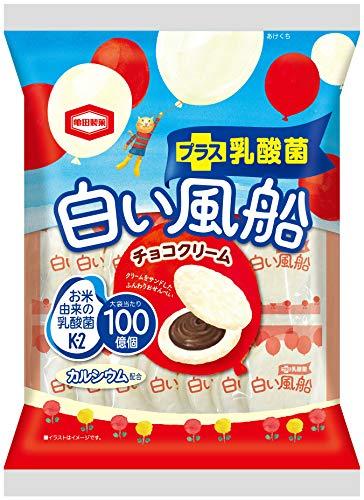 亀田製菓 白い風船チョコクリーム 18枚×12袋