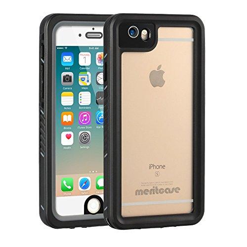 Merit iPhone6/6S 防水ケース 質感上乗 水下10M防水 アイフォン6 防水ケース IP68 防塵 防雪 耐衝撃 (6/6S(4.7))
