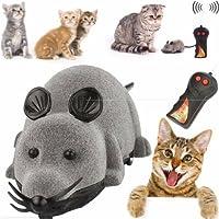 猫じゃらし ペット用おもちゃ 運動不足解消 犬猫玩具 ネズミ型 (グレー)