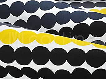 ハーフカットクロス marimekko(マリメッコ) 約70×50cm RASYMATTO(ラシィマット) イエロー