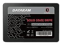 DATARAM 240GB 2.5インチ SSDドライブ ソリッドステートドライブ GIGABYTE GA-X99M-GAMING 5
