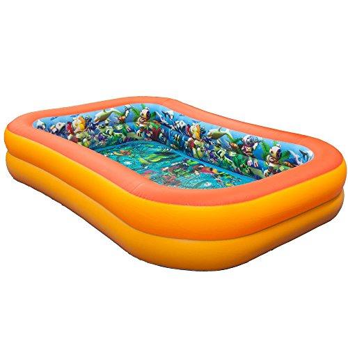 3D海中探検宝探しプール このプールはまるで海の中!まるでア...