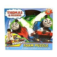 きかんしゃトーマス フォームパズル 25ピース パズルマット THOMAS パズル フロアパズル おもちゃ プレゼント 子供会 景品 Puzzle マット 12992【即日・翌日発送】