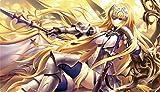 TCGプレイマット 「Fate/Grand Order ジャンヌ・ダルク」 【フレシア / illust:光崎】 コミックマーケット91