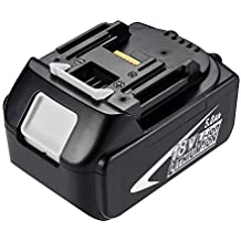Masione 18V 5000mAh High Capacity BL1850 Lithium Battery Pack Replacement for Power Cordless Drill LXT400 194205-3 194309-1 BL1830 BL1840 BL1850