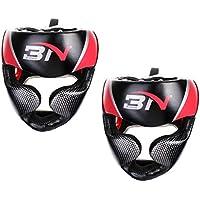 Lovoski 2個 ヘッドギア ボクシング ヘルメット 格闘技 頭部保護 プロテクター 耐久性