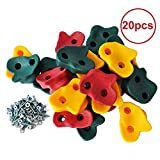 Magicfly Kids Large Rock Climbing Holds with Mounting Hardware ( 20パック)