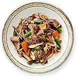 [冷凍] 2人前 ミールキット 牛肉と5種野菜の焼きすき 調理約10分