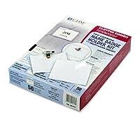 c-line :クリップ/ピンコンボバッジホルダーキット、トップロード、3x 4、ホワイト、50perボックス–: -の2パックとして販売–50–/–Total of 100各