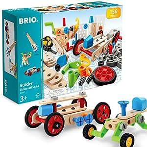 BRIO (ブリオ) ビルダー コンストラクションセット [ 工具遊び おもちゃ ] 34587