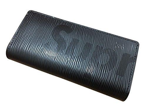 SUP & L.V お財布 男女兼用 長財布 財布 (BLACK) [並行輸入品]