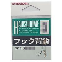 カツイチ(KATSUICHI) フック背鈎 4 釣り針