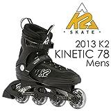 K2(ケーツー) インライン 2013 KINETIC 78 男性用 メンズ インラインスケート INLINE SKATE 26cm