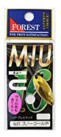 フォレスト(FOREST) ルアー MIU(ミュー)第16弾 3.5g №03 スノーゴールド