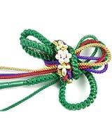 成人式 振袖用 パールビーズ飾り付き 金糸使用 高級手組 帯締め