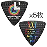【限定品】【5枚セット】ESP PA-LT10-L'25th/BK L'Arc?en?Ciel 25th L'Anniversary LIVE tetsuya ピック