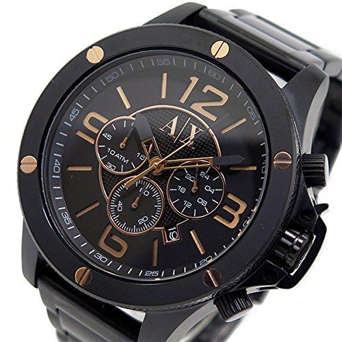 アルマーニ エクスチェンジ クオーツ クロノ メンズ 腕時計 AX1513 ブラック 腕時計 海外インポート品 アルマーニエクスチェンジ mirai1-513746-ak 並行輸入品 簡易パッケージ品