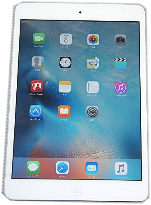 腹痛ドレインコミットメントdocomo ipad mini Retina Wi-Fi Cellular 16GB シルバー 白ロム ME814J/A  Apple