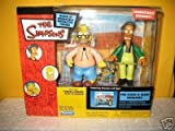 Simpsons - World of Springfield Interactive Figures - The Kwik-E-Mart Diorama featuring Grampa and Apu figures