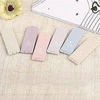 HuaQingPiJu-JP ミニソリッドカラーランダムパターン小さなガラスミラー工芸装飾化粧品アクセサリー