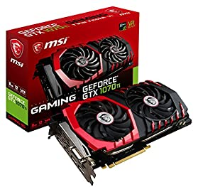 MSI GeForce GTX 1070 Ti GAMING 8G グラフィックスボード VD6490
