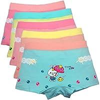 Girls Boyshort Hipster Panties Cotton Panty Underwear (Pack of 5)