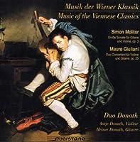 ヴァイオリンとギターのためのウィーン古典派音楽 (Musik der Wiener Klassik)