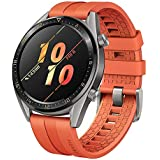 """HUAWEI Watch GT Active Smartwatch with 1.39"""" AMOLED Touchscreen, 2-Week Battery Life, 24/7 Continuous Heart Rate Tracking, Multiple Outdoor and Indoor Activities, 5ATM Waterproof, Orange"""