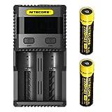 51rOcUExsfL. SL160 - 【レビュー】Nitecore Q2 CHARGER(ナイトコアキューツーチャージャー)バッテリー充電器レビュー。小型コンパクトで2Aのスゴモノ。旅行/出張/アウトドア/モバイル携帯に最適解