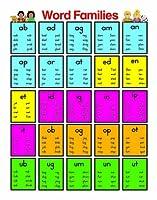 Carson Dellosa Word Families Chart (6261) by Carson-Dellosa