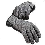 CHULRITA 羊皮 手套 皮革 真皮 人字呢 防寒 秋冬 绅士 上班 上学 手套 男士/女士 -  商务